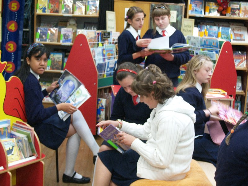 enjoying-our-new-library