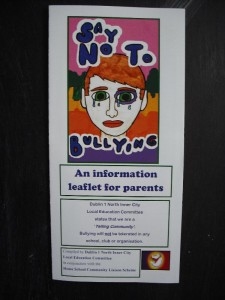 Say No to Bullying Leaflet