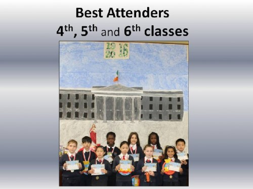 Best Attenders 4th 5th 6th a