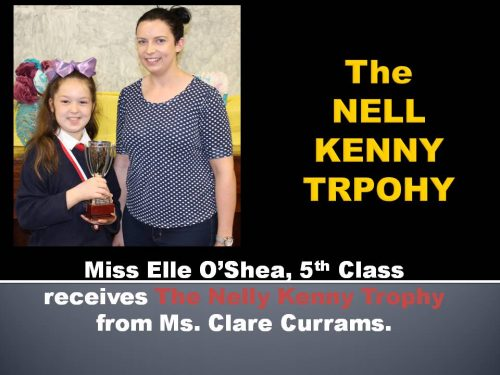 NELL KENNY TROPHY a