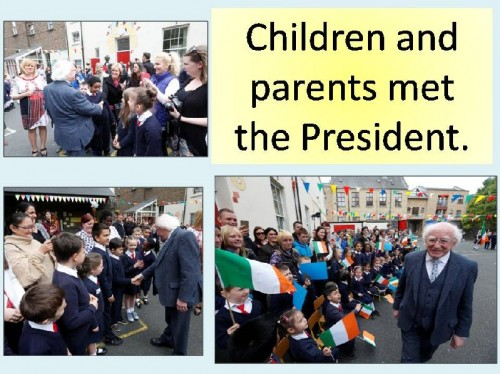 Meeting the President a